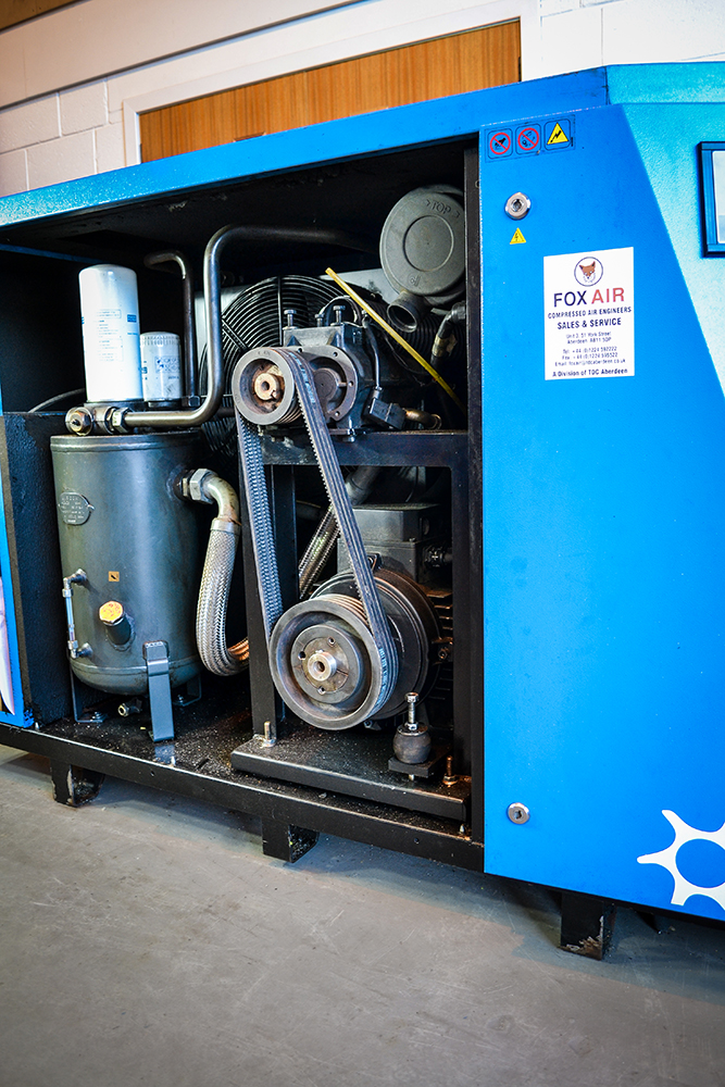 Inside Rotary Screw Compressor