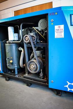 Inside Rotary Screw Compressor