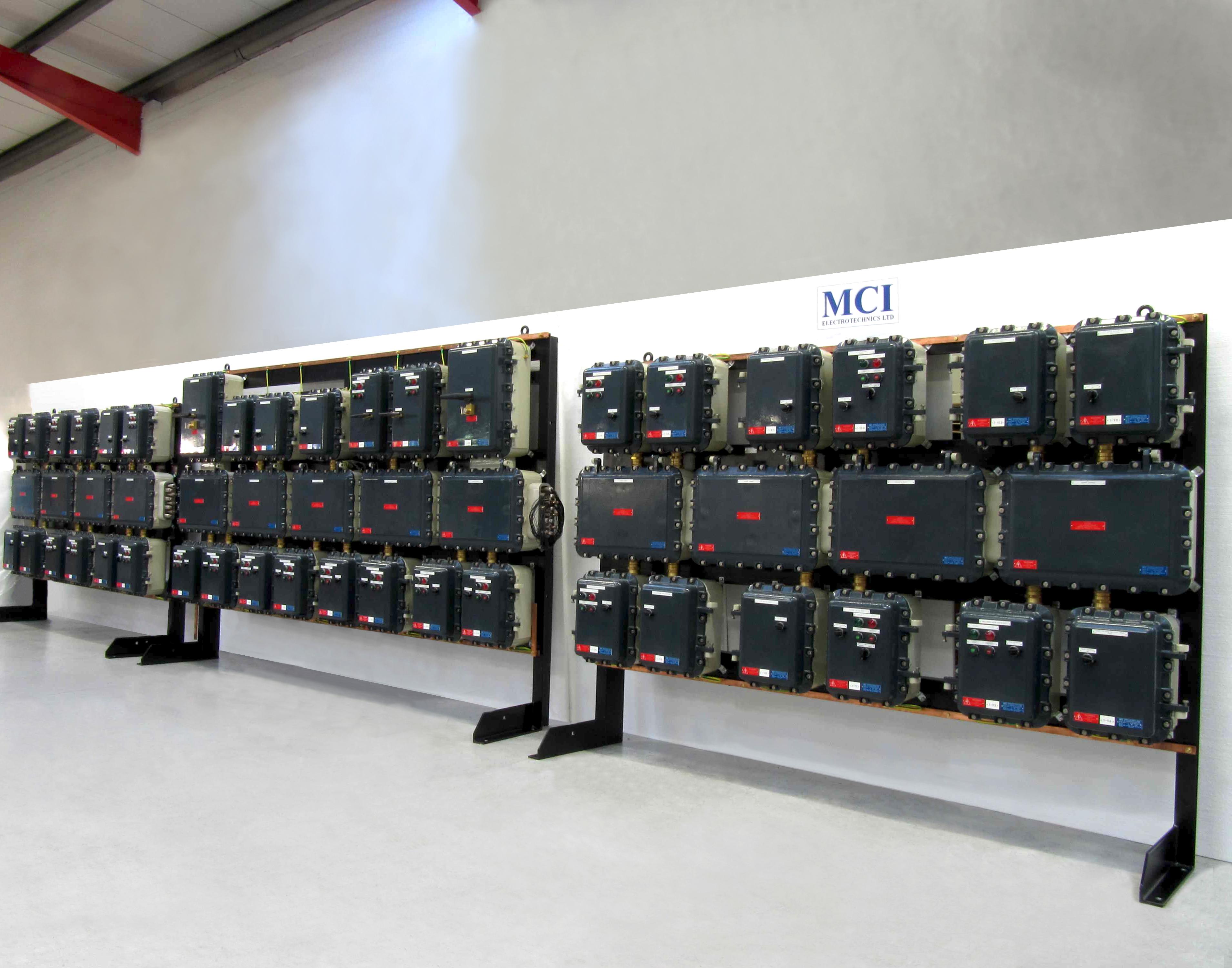 480V 3ph/N Exd MCC