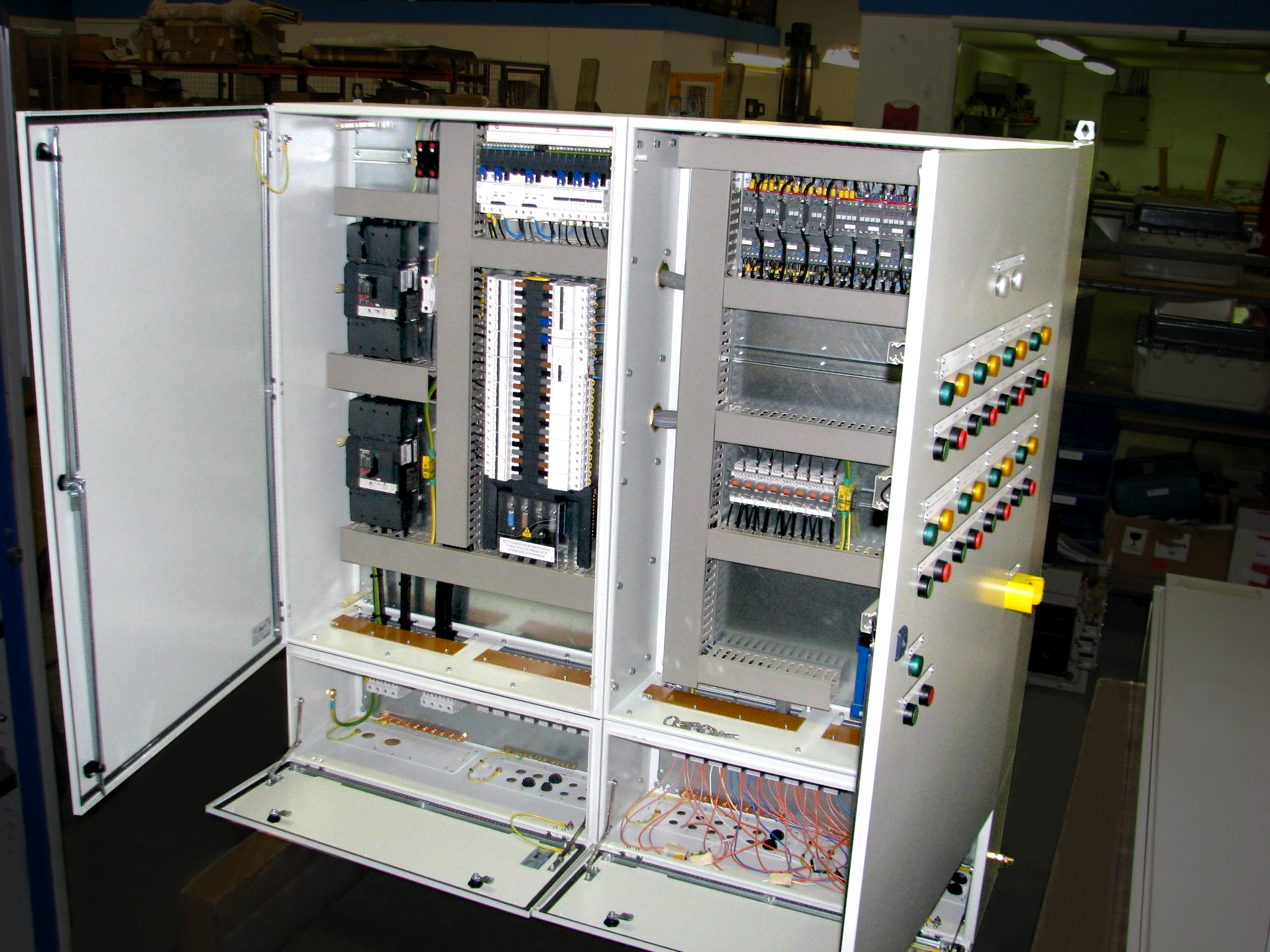 Test Control Panel