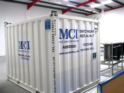 MCI Test Container