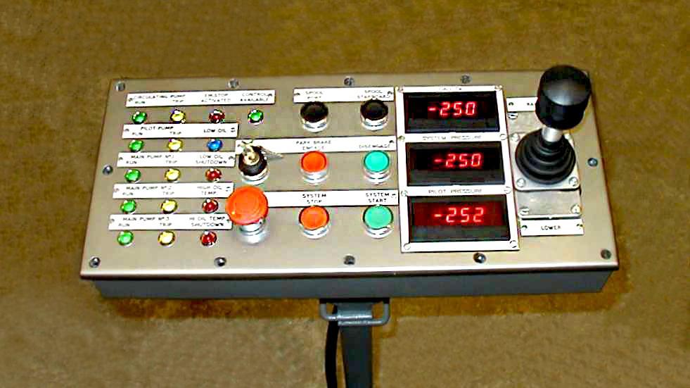 Tensioner Control Panel