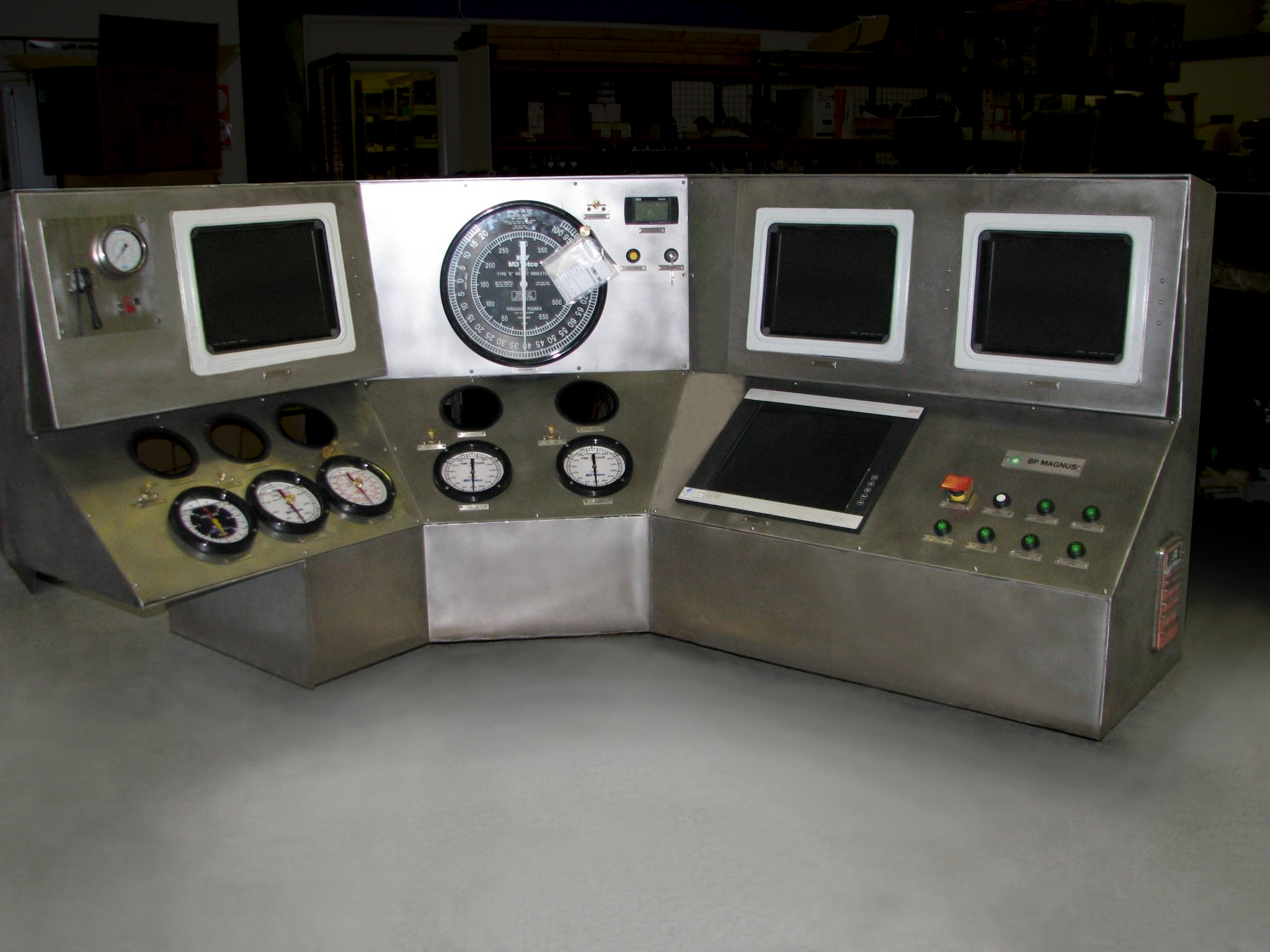 Drillers Control System