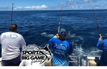 Big Game Fishing for Tuna with XSCAPE.jp