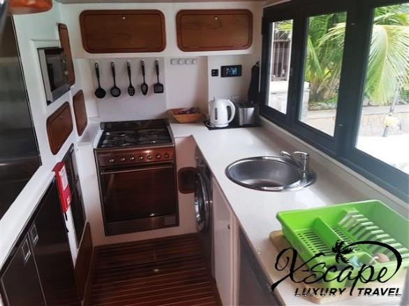 X-SCAPE Yacht Kitchen