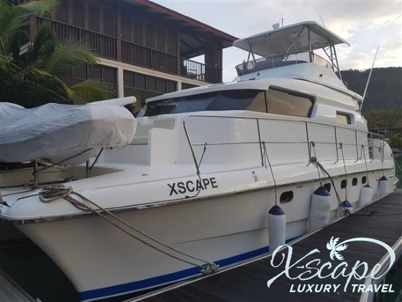 Outside look X-SCAPE Yacht