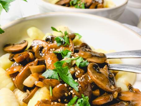Mushroom Gnocchi