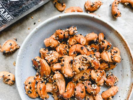 Toasted Sesame Cashews