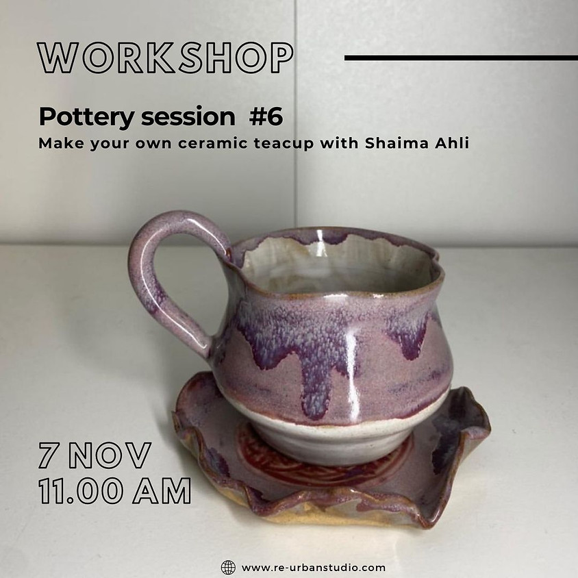 Pottery session #6