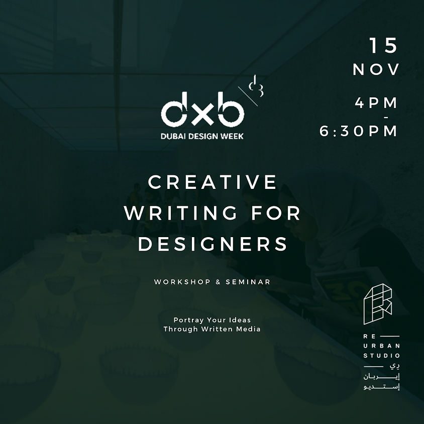 Creative Writing for Designers