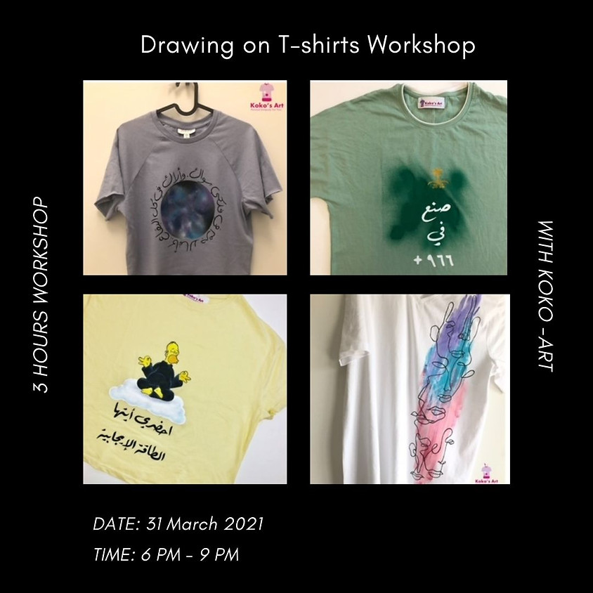 Drawing on T-shirts Workshop