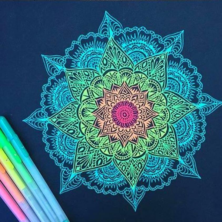 Mandala Art - Life Around a Circle
