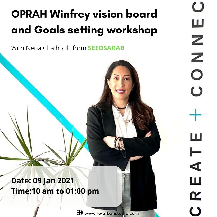 """""""OPRAH Winfrey vision  board and Goals setting"""" #1"""