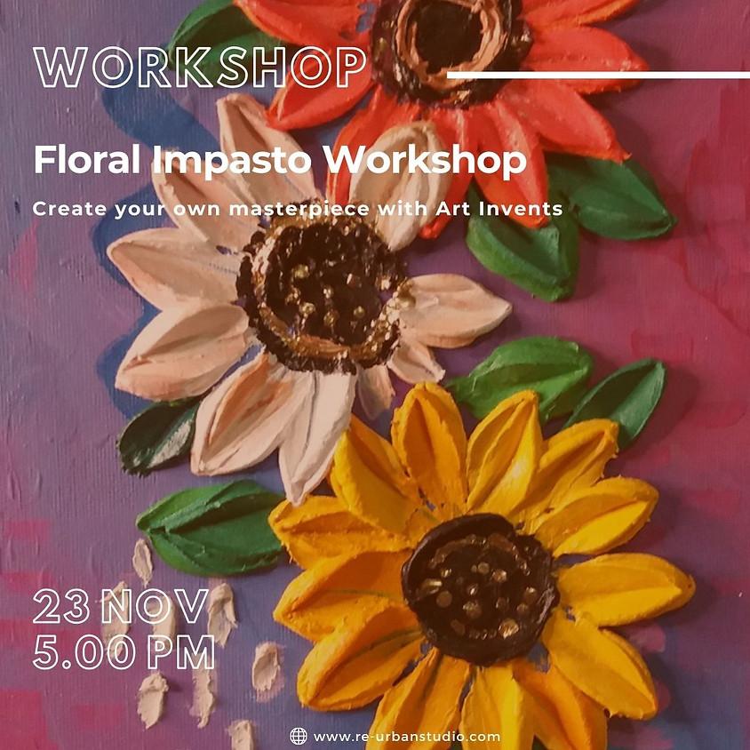 Floral Impasto Workshop