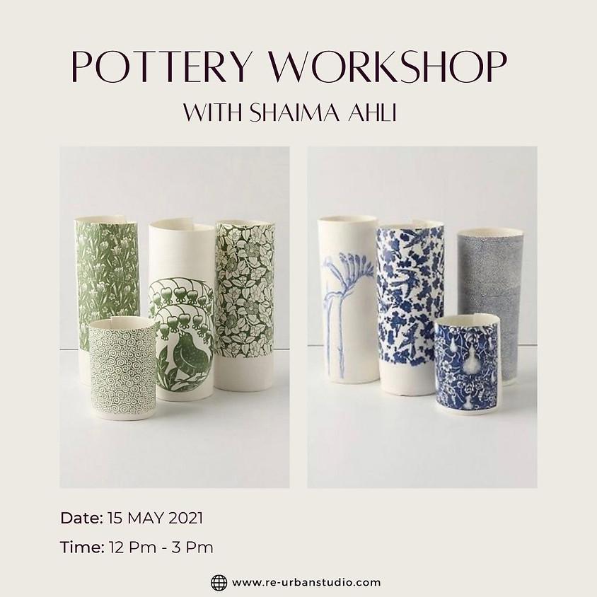 Porcelain Decal Vases workshop