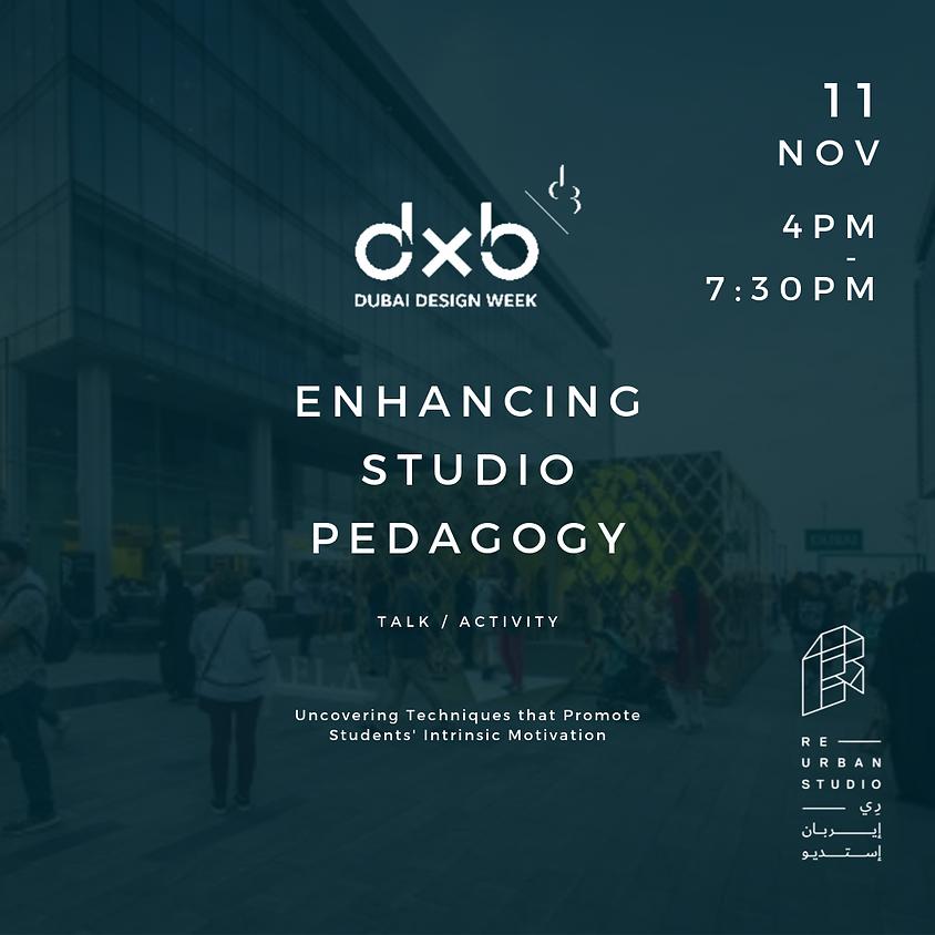 Enhancing Studio Pedagogy
