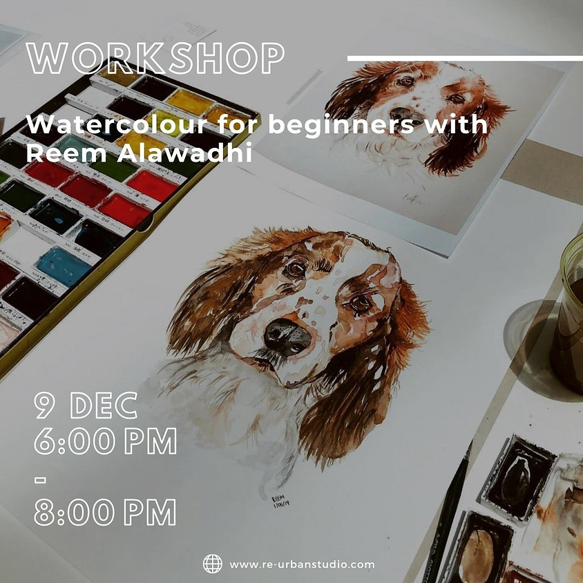 Watercolor for beginners with Reem Alawadhi