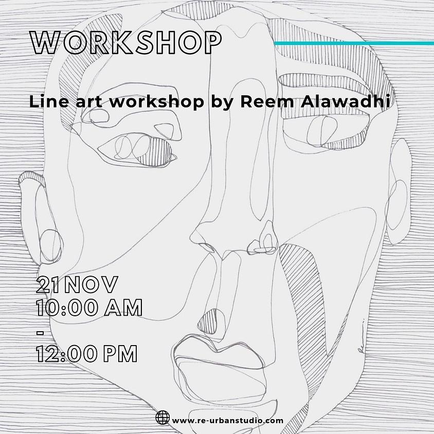 LINE ART WORKSHOP BY REEM ALAWADHI