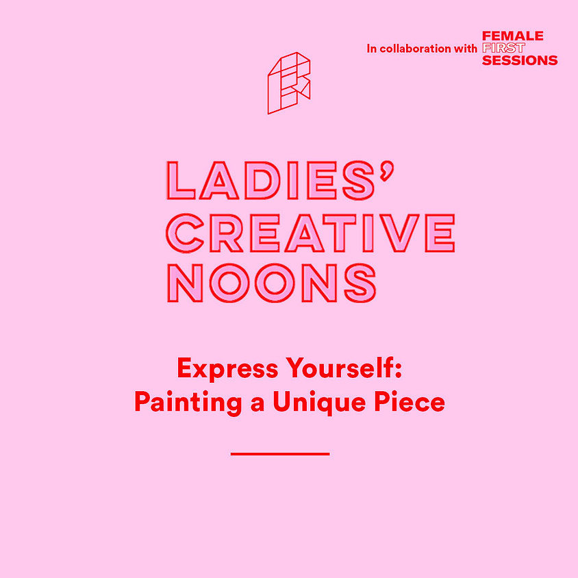 Ladies' Creative Noons - Express Yourself: Painting a Unique Piece