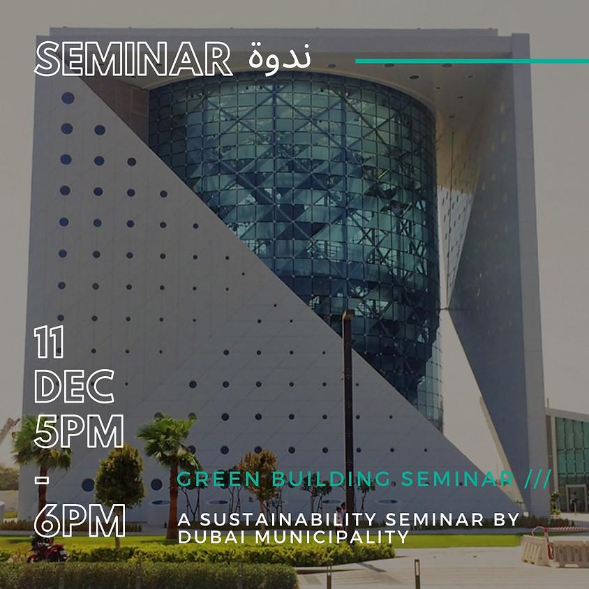 GREEN BUILDING SEMINAR ///