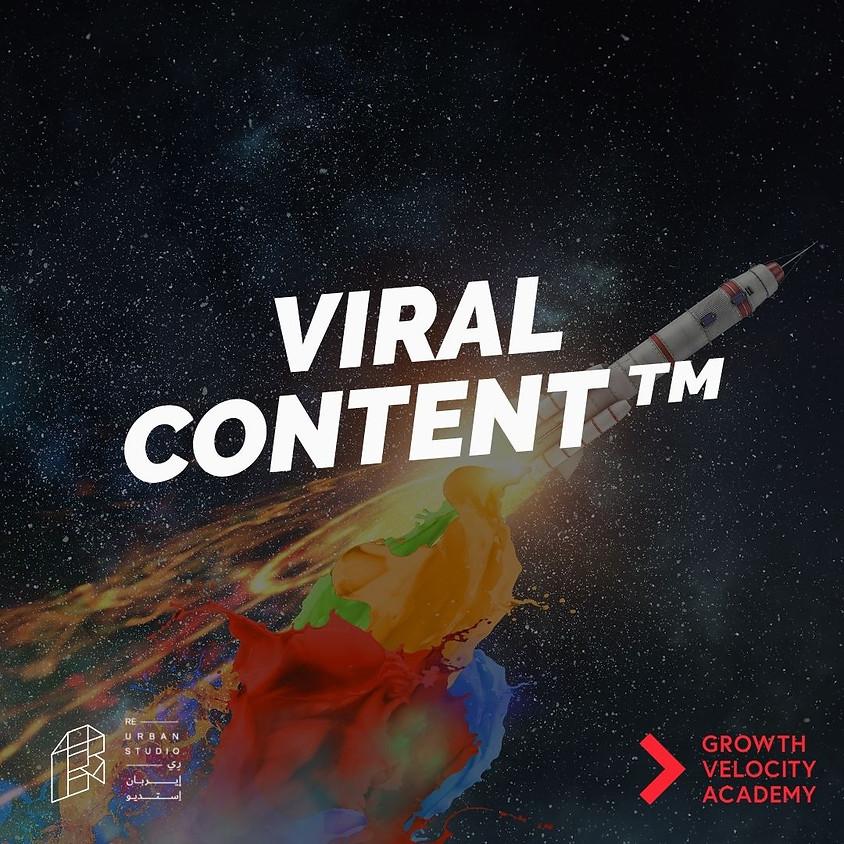 [Free Masterclass] Viral Content