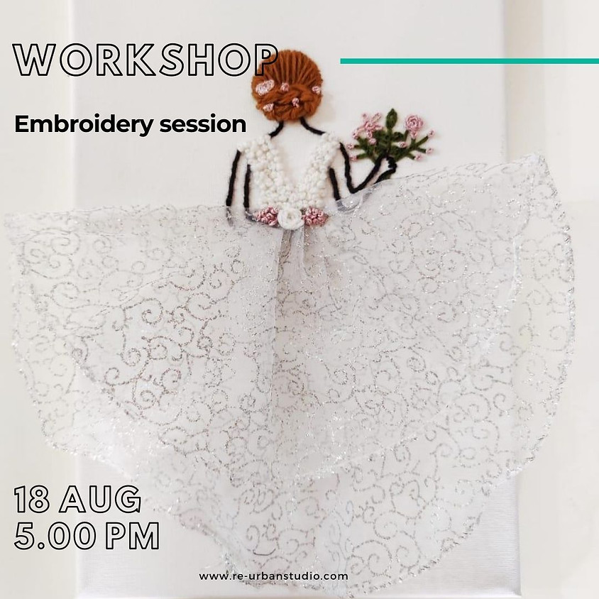 Embroidery Session