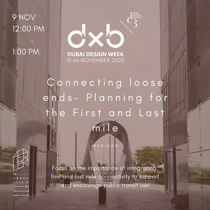 Connecting loose ends- Planning for the First and the Last mile by Arup