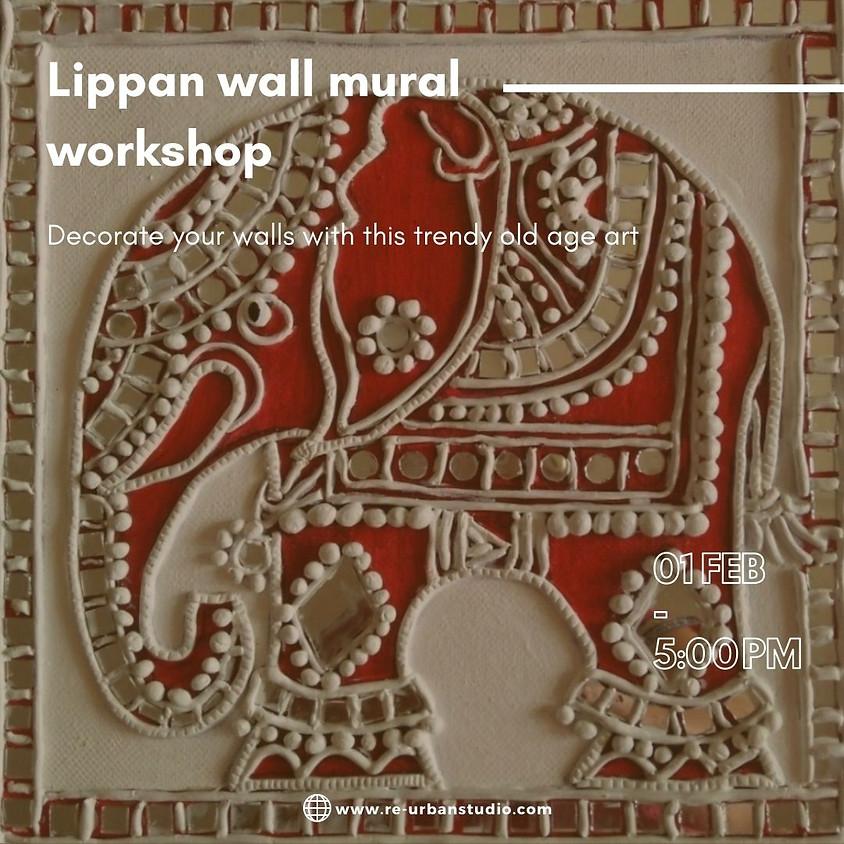 Lippan wall mural workshop