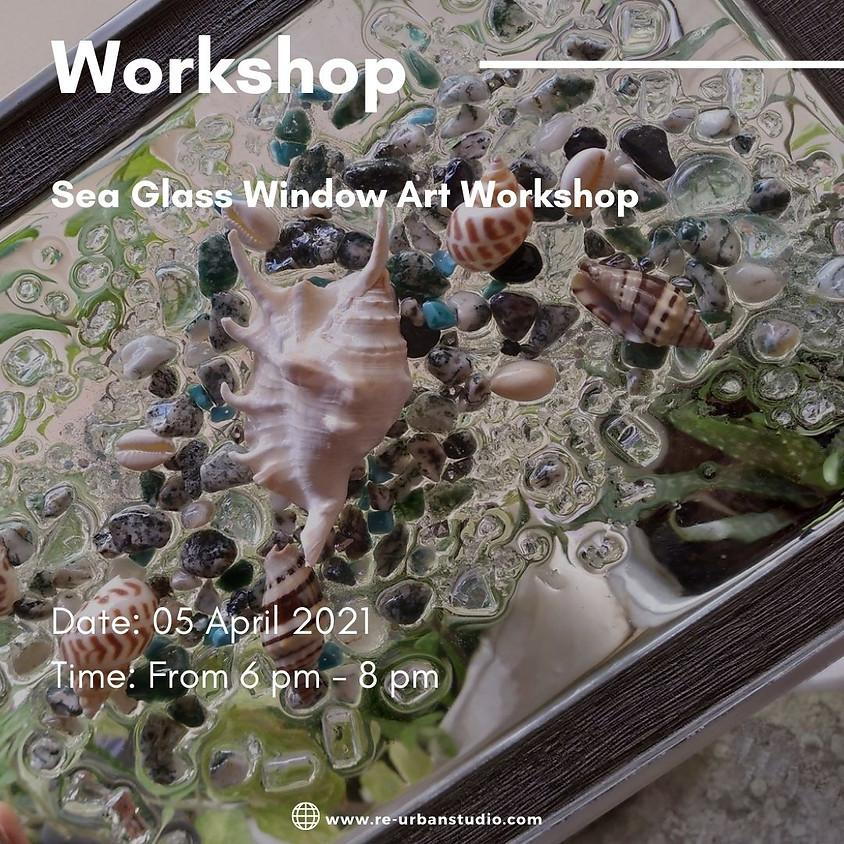 Sea Glass window Art Workshop