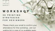 3D Printing Strategies for Designers