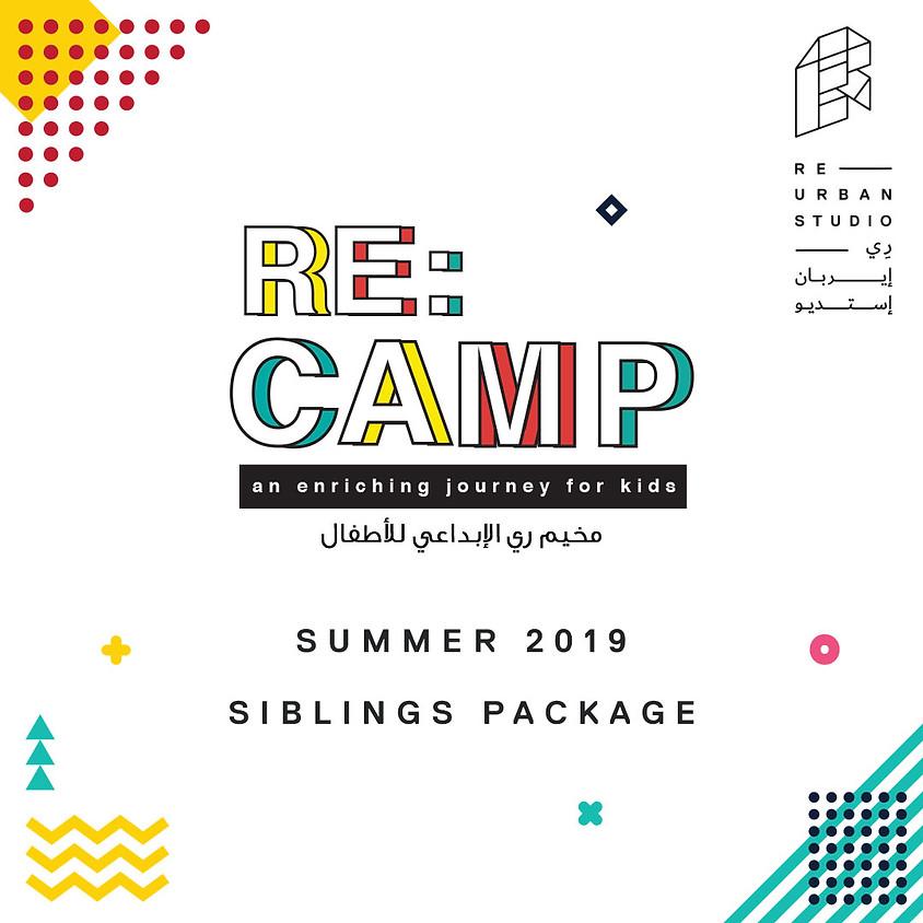 Kids Camp - Summer 2019: Siblings Package