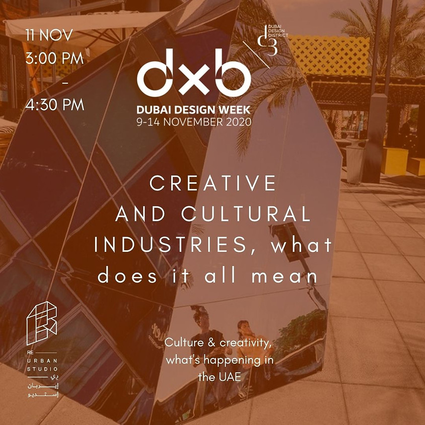 Creative and Cultural Industries, What Does it All Mean?