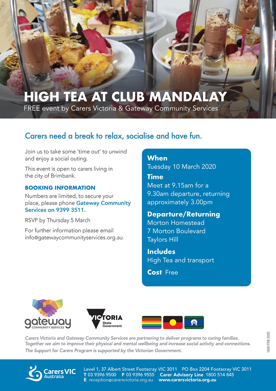 Carers VIC and Gateway Community Servcie