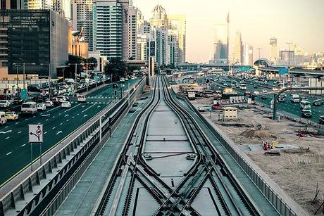 Tracks ferroviárias urbanas