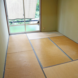和室→洋室Before