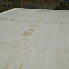 ③屋根防水工事前