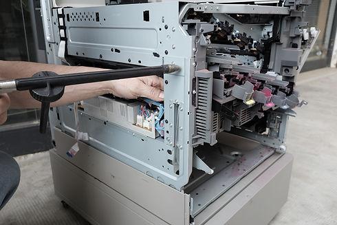 事務機器の修理