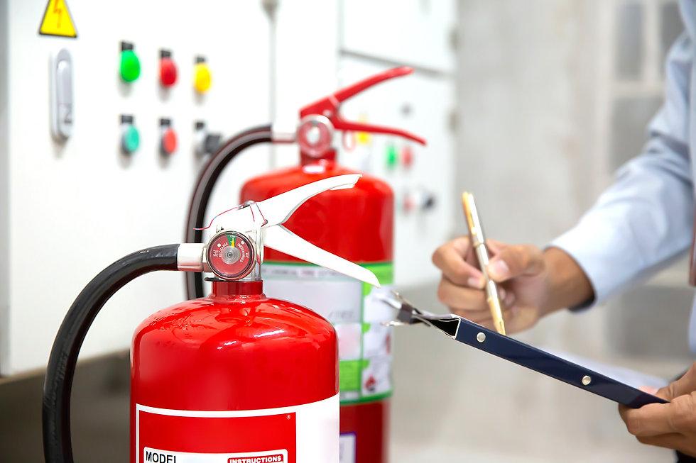 消火栓の点検