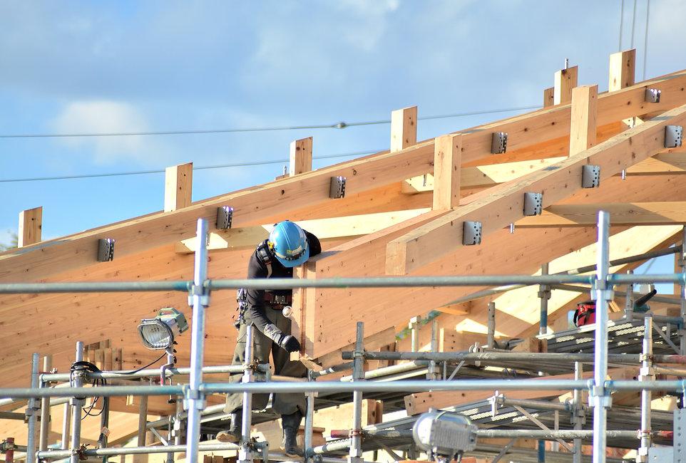 八戸市、屋根、建築板金業
