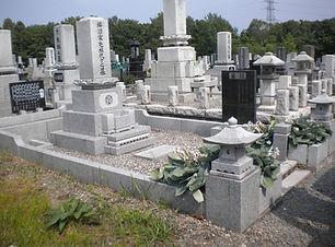 墓石 リフォーム前