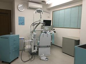 かなだ歯科医院診察室