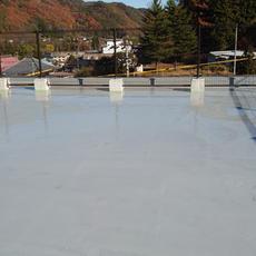 ⑤屋根防水工事後