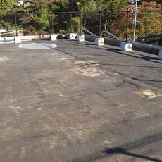⑤屋根防水工事前