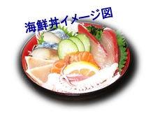 海鮮丼イメージ図