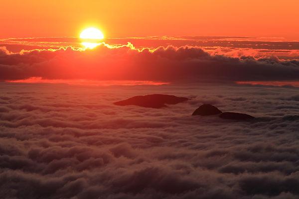 富士山5合目雲海