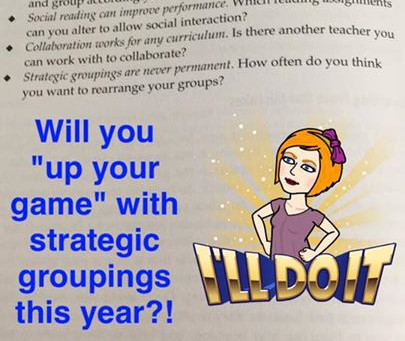 Strategic Groupings for Academic and SEL
