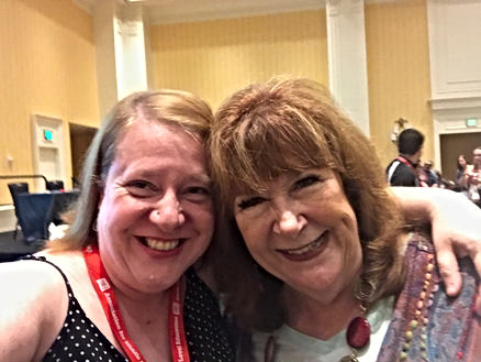 Me and Dr Deb Silver