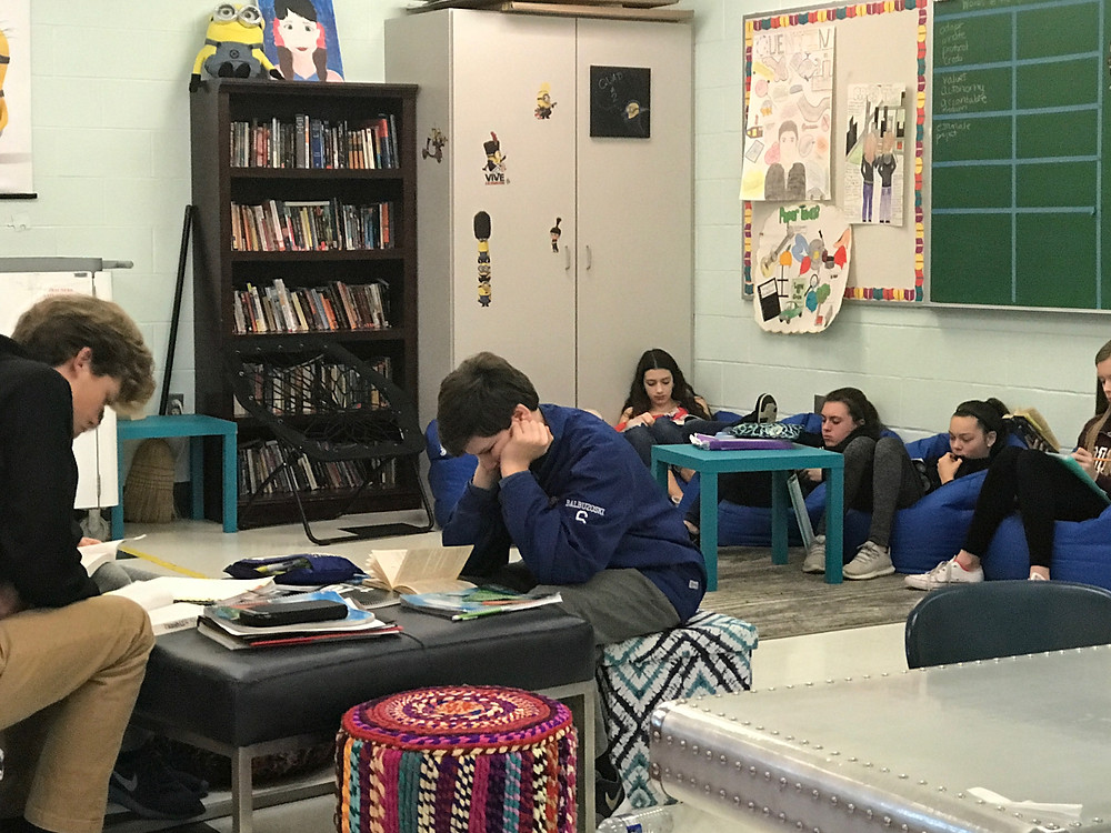 The Giver, flexible seating, Social Emotional Learning, SSR