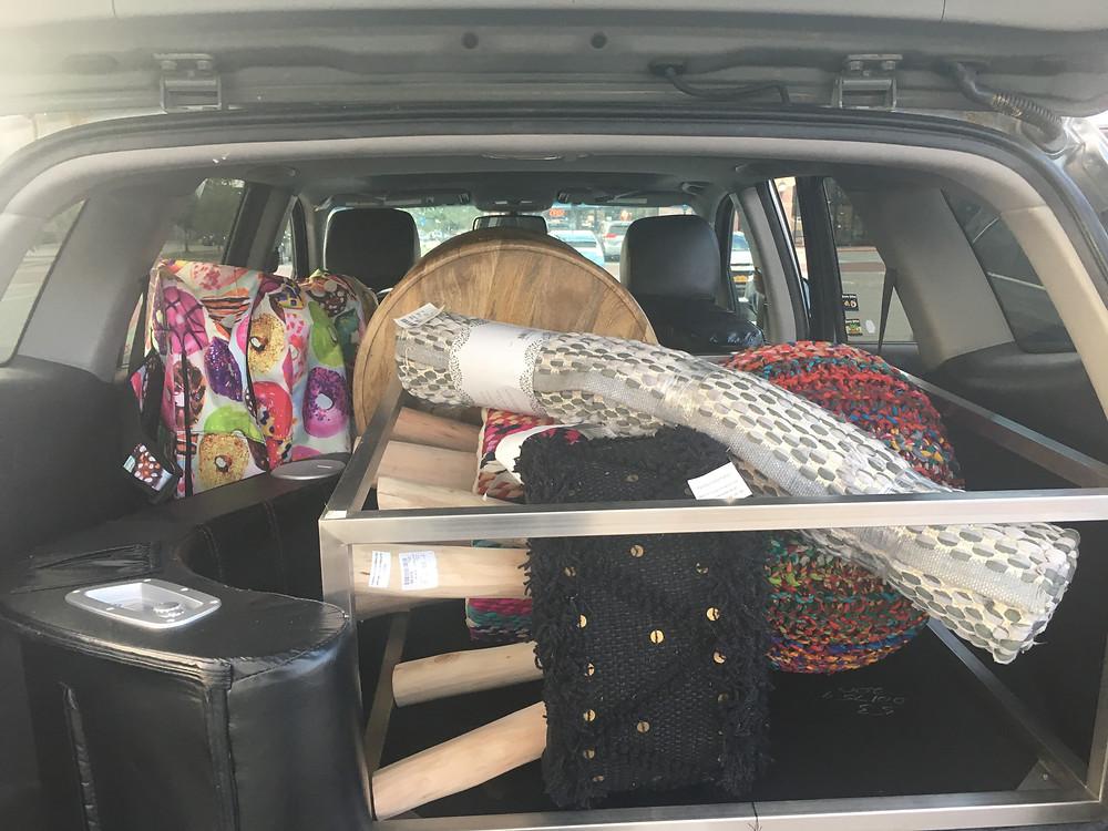 stuffed trunk for my flexible classroom