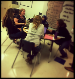 Amber Chandler collaborates with ENL teachers to plan authentic and engaging activities that support 21st century skills.